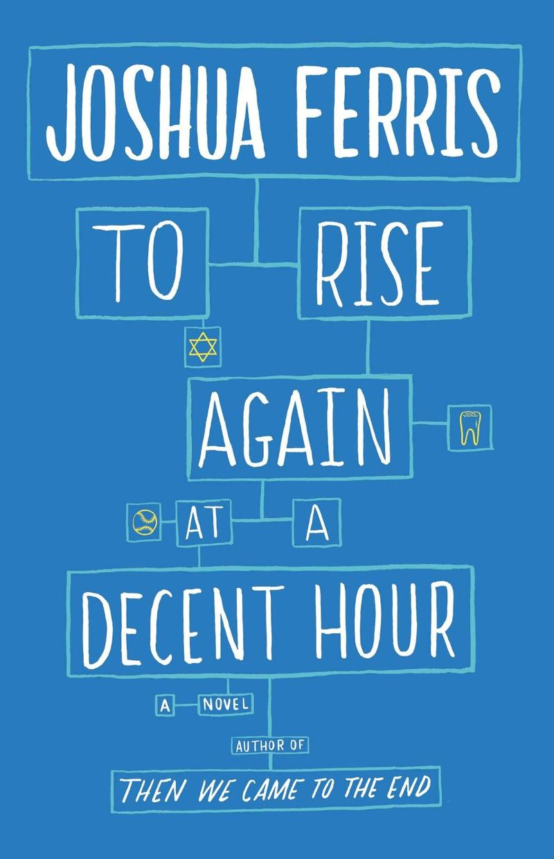 "The cover of the book ""To Rise Again at a Decent Hour."""