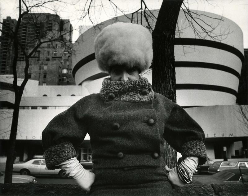Bill Cunningham, Guggenheim Museum (built 1959), ca. 1968-1976.