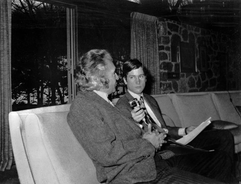 douglas p cooper interviewing dave brubeck in 1972