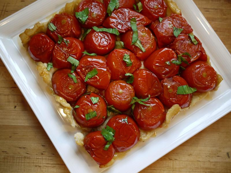 tomato tarte tatin recipe food to love tomato tarte tatin hydro