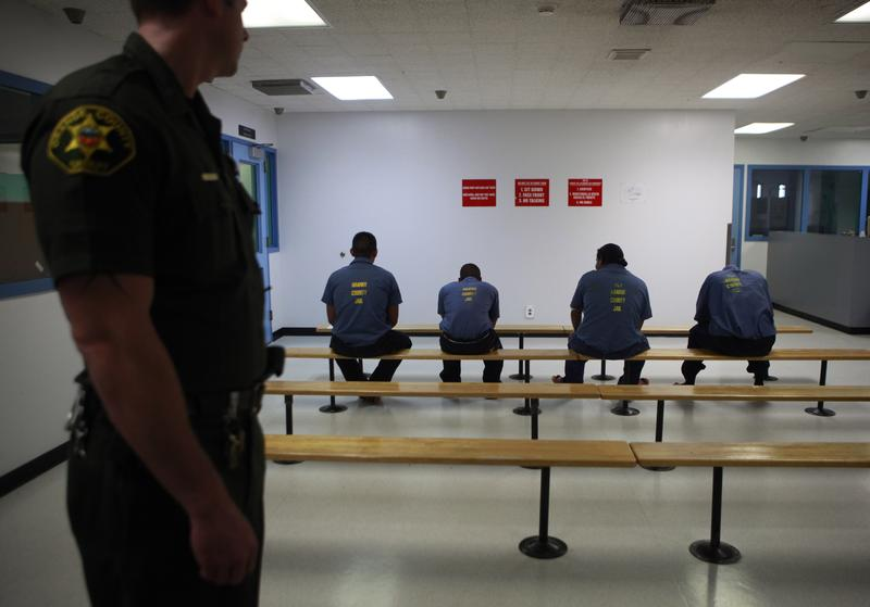 Immigration detainees being held in an Orange County Sheriff's facility