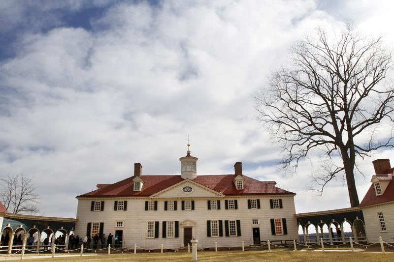 Mount Vernon, the home of America's first president, Gen. George Washington, is seen in Mt. Vernon, Va. Feb. 20, 2011, a day before the nation's President's Day celebration marks Washington's birthday