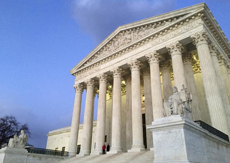 Supreme Court Building in Washington D.C.