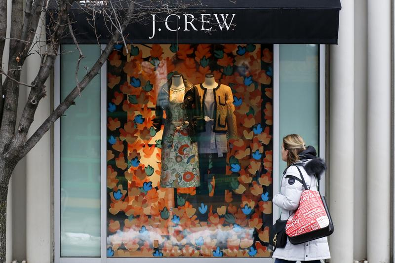 J. Crew is laying off staff and facing declining sales.