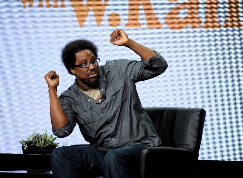"Executive producer/host W. Kamau Bell participates in the ""Totally Biased With W. Kamau Bell"" panel at the FX 2013 Summer TCA press tour"