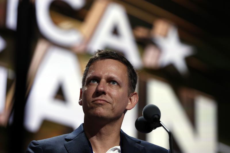 Tech billionaire Peter Thiel