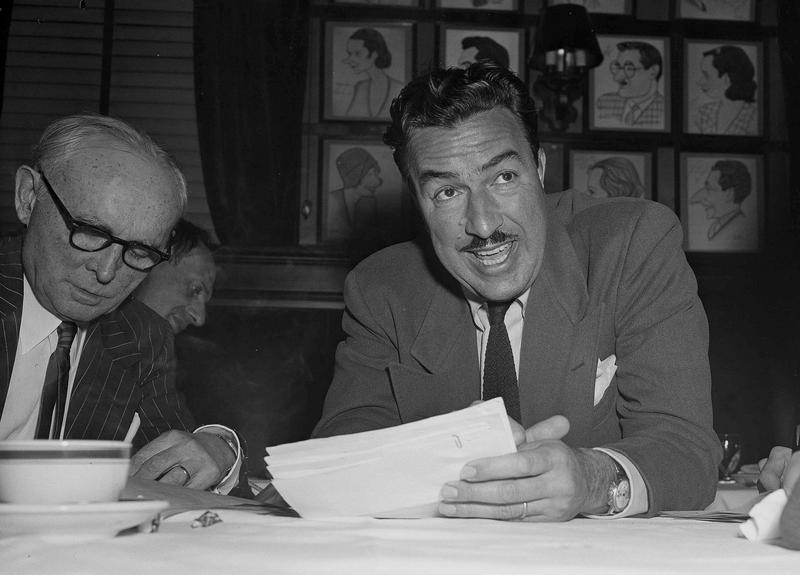 Rep. Adam Clayton Powell, Jr., (D-NY) talks to newsmen at press conference in New York, Dec. 29, 1952.