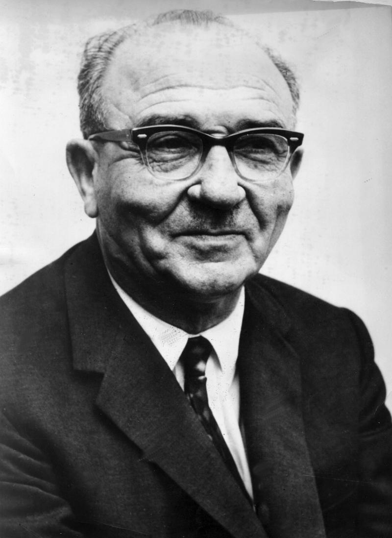 Levi Eshkol, Israel Prime Minister, June 26, 1963.