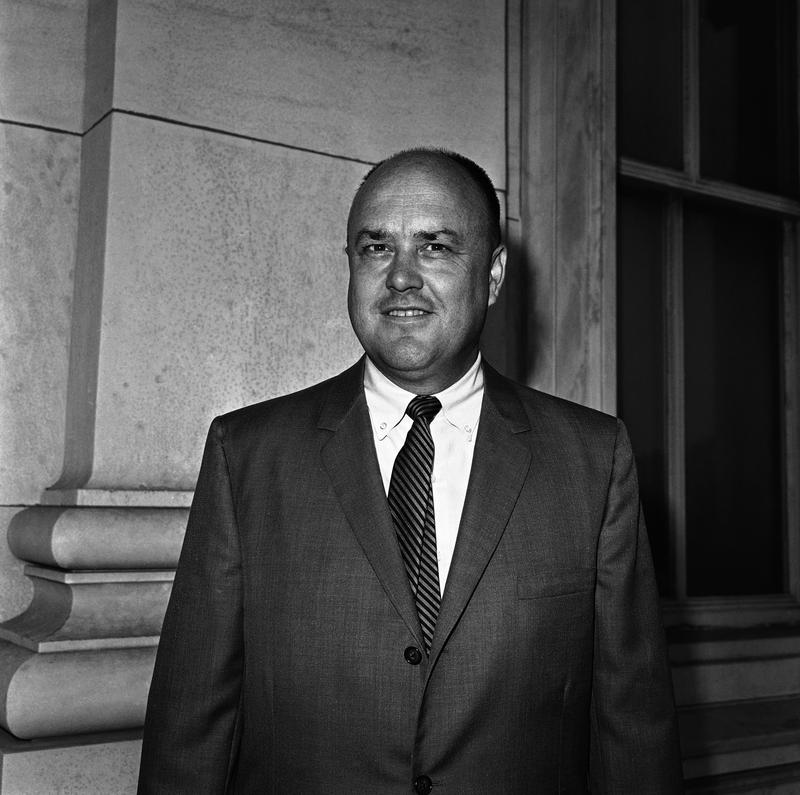 Rep. Melvin R. Laird of Wisconsin poses at the Capitol after he was named chairman of the Republican Platform Commission on July 3, 1964 in Washington.