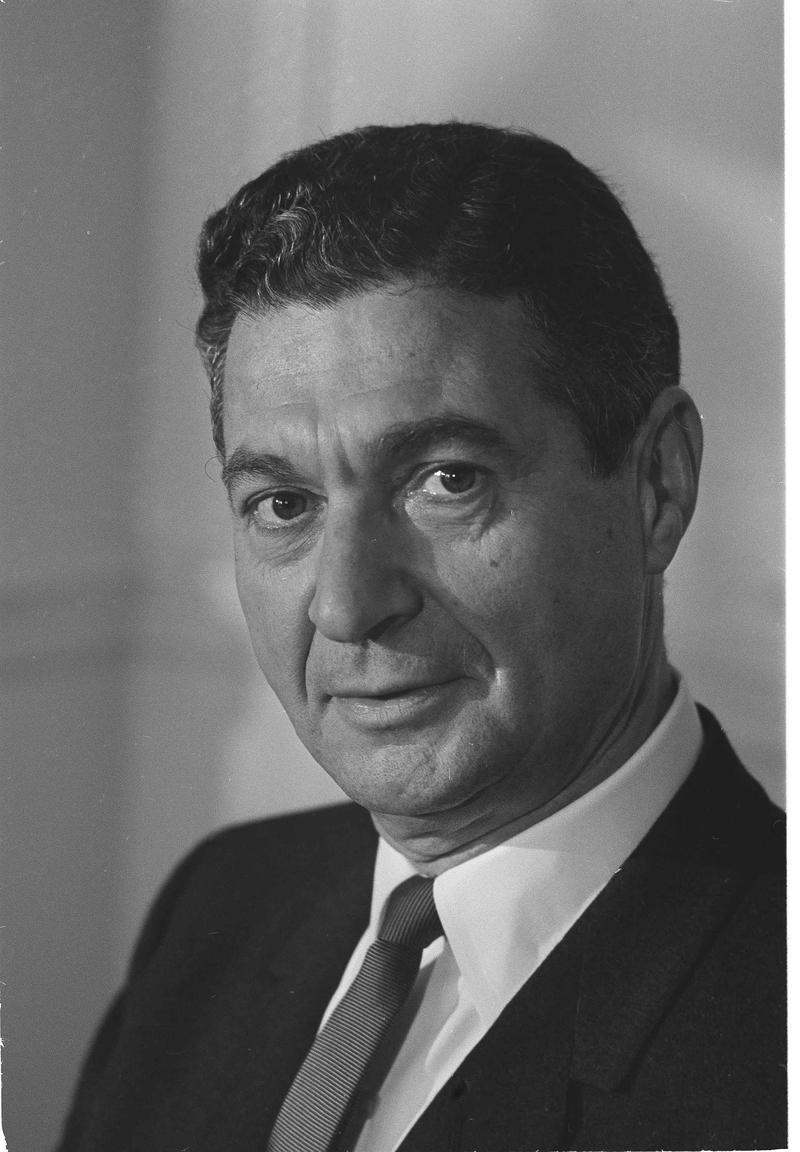 Ambassador Sol M. Linowitz is seen, Jan. 20, 1967.