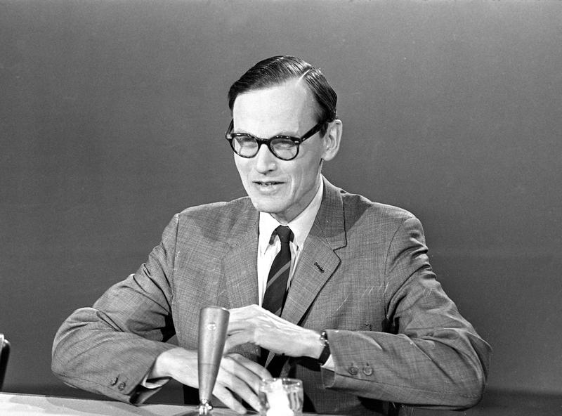 "Assistant Secretary of State William P. Bundy appears on NBC's ""Meet The Press,"" in Washington, Feb. 25, 1968."