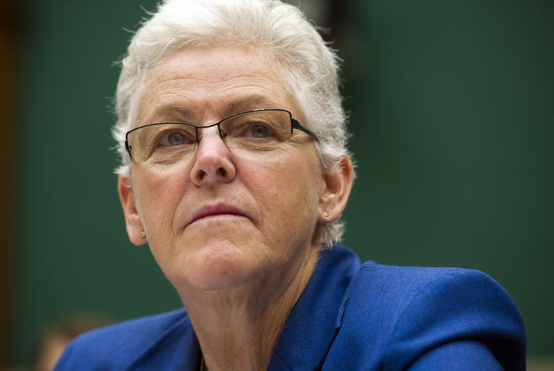In this Sept. 18, 2013, photo, EPA administrator Gina McCarthy testifies before the House Subcommittee on Energy and Power on Capitol Hill, in Washington.