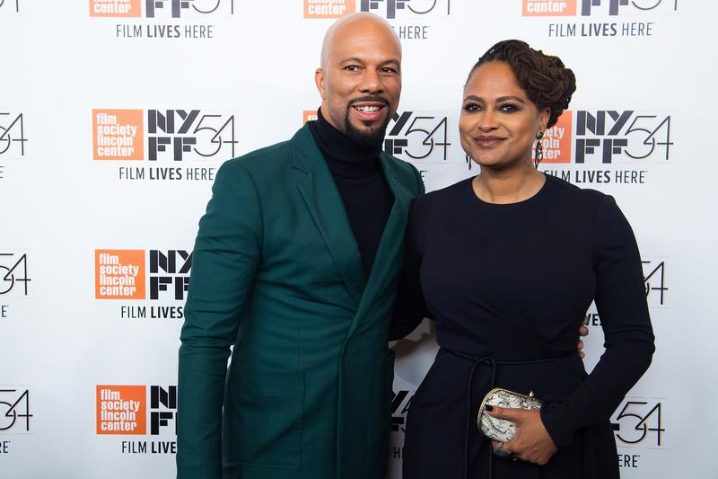 "Common, left, and director Ava DuVernay attend the 54th New York Film Festival opening night gala presentation and world premiere of ""13th."""