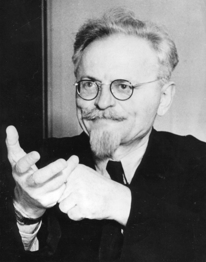 A portrait of Leon Trotsky, the former Bolshevist leader and creator of the Red Army, taken on Aug. 9, 1940.