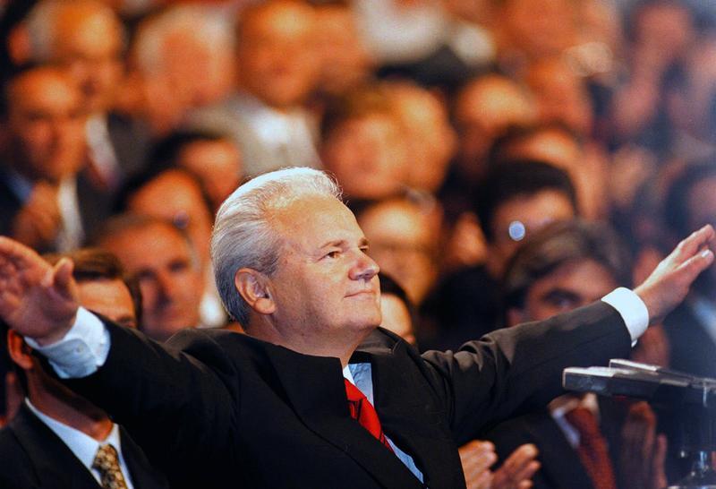Slobodan Milosevic in Belgrade, Serbia