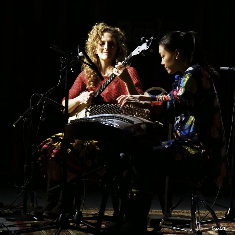 Abigail Washburn and Wu Fei will perform Monday, October 17 at Symphony Space.