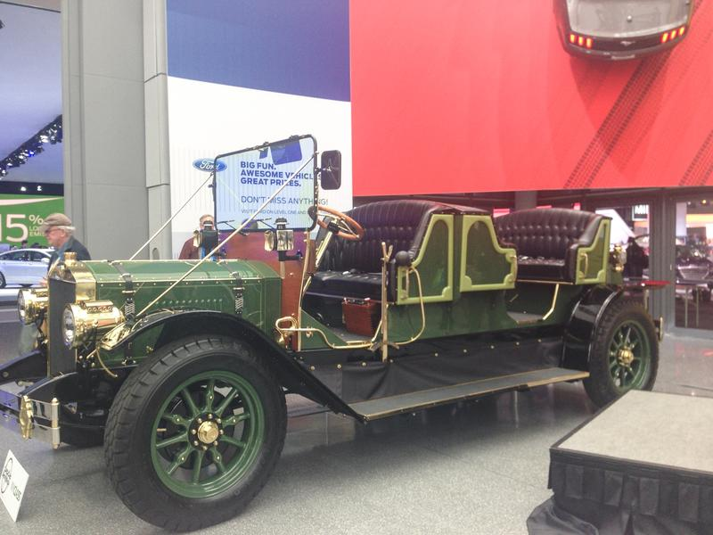 Horseless eCarriage unveiled at New York Auto Show.
