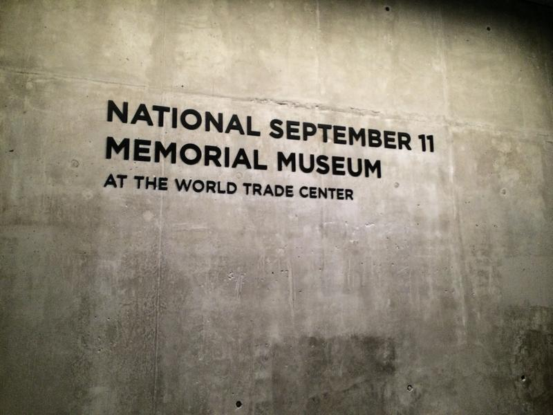 The 9/11 Memorial Museum entrance.