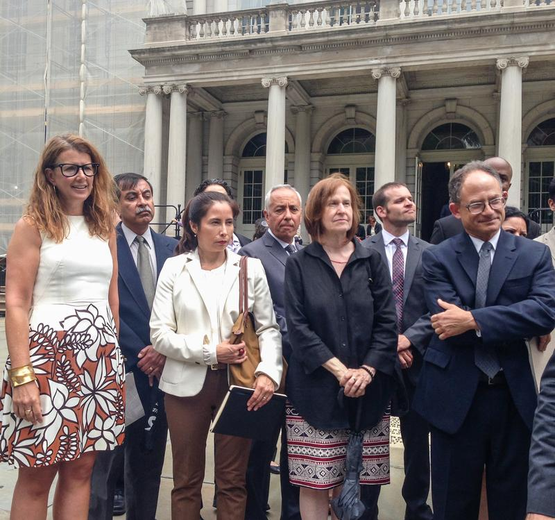 Advocates Rally at City Hall to Protect NYC's Industrial Space