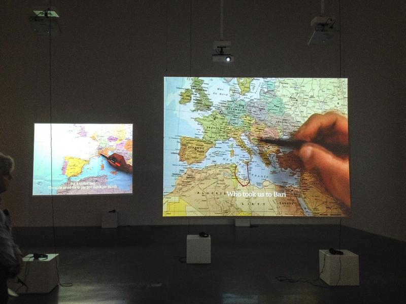 "Bouchra Khalili's ""The Mapping Journey Project"" at the New Museum"