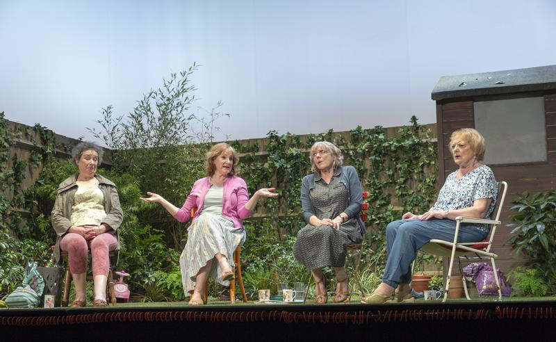 """The cast of Caryl Churchill's """"Escaped Alone"""""""