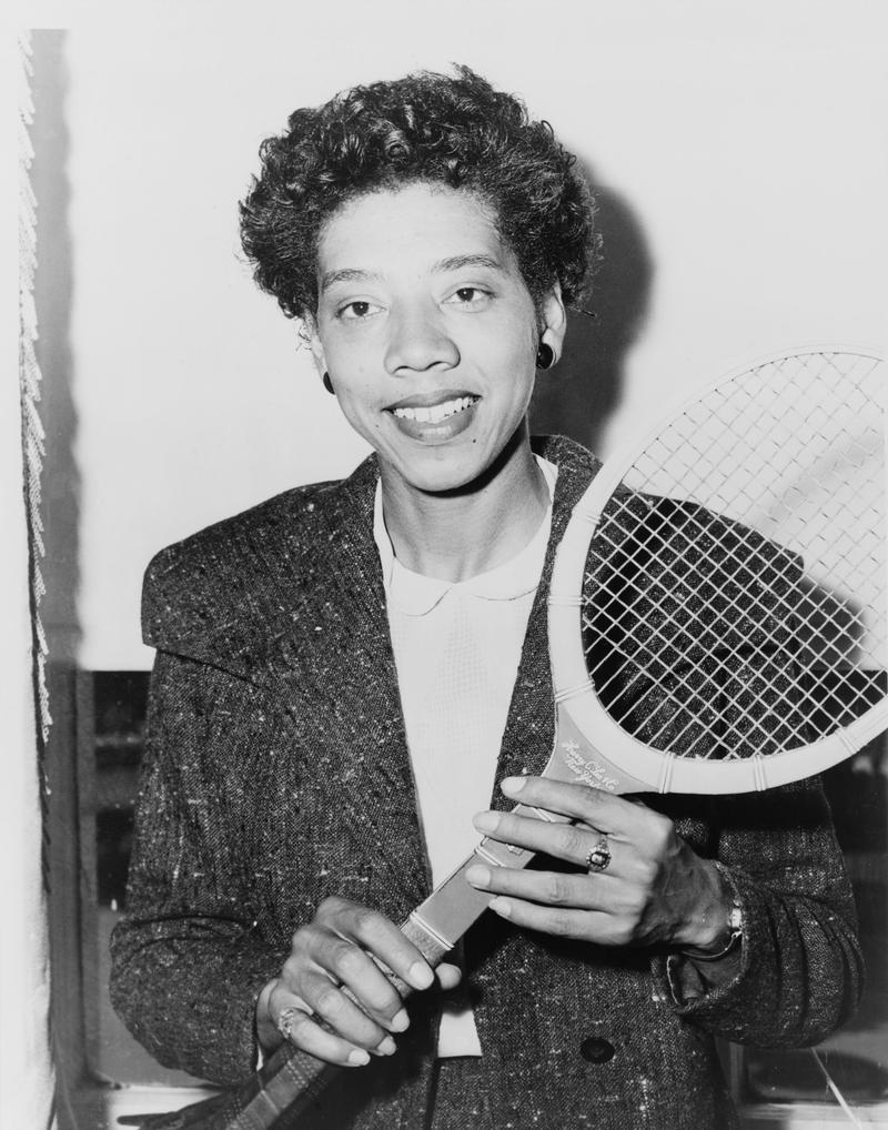 Althea Gibson in 1956