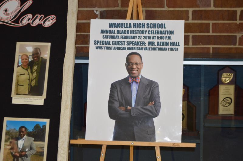 Alvin Hall Day at Wakulla High School
