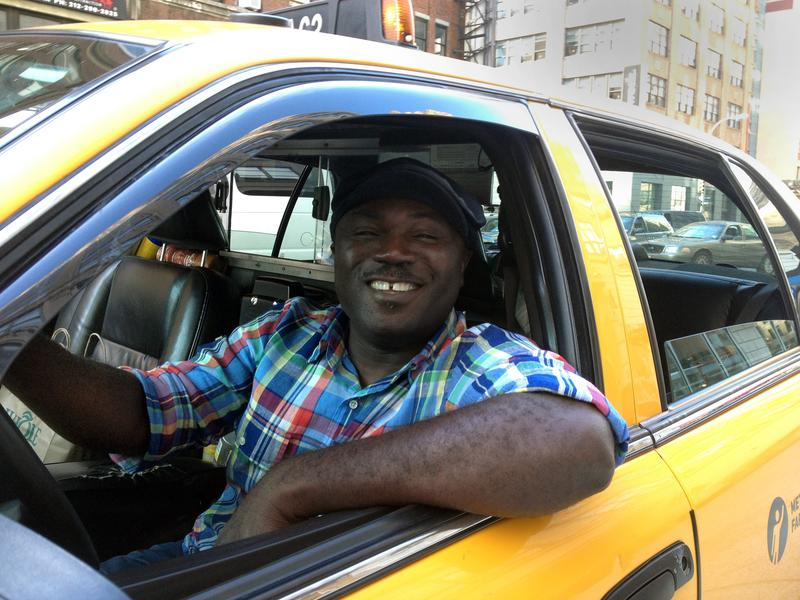 Fred Amoafo, NYC's safest cabbie.