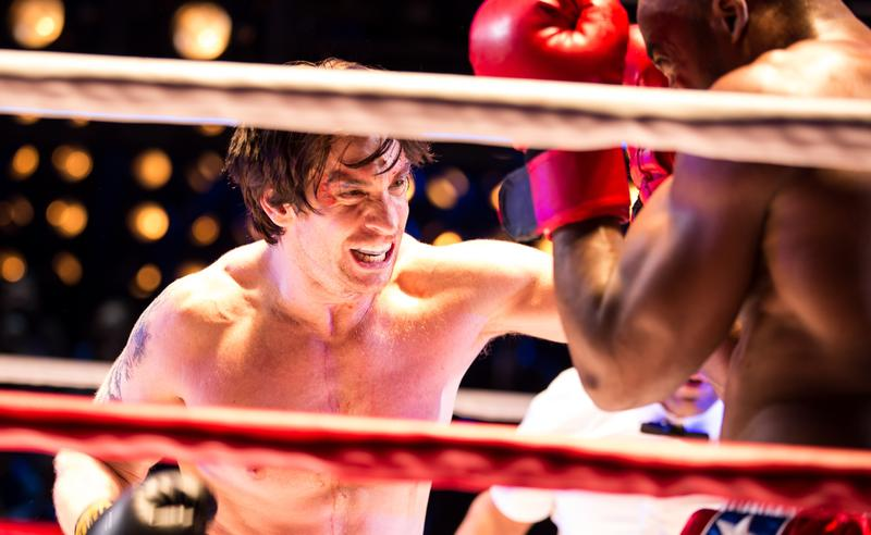 Andy Karl in the Broadway musical 'Rocky'