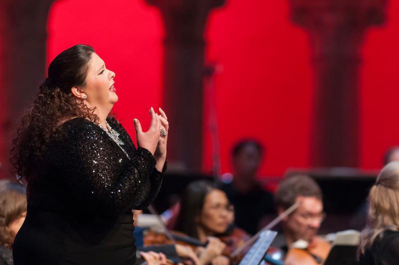 Soprano Angela Meade at Caramoor.