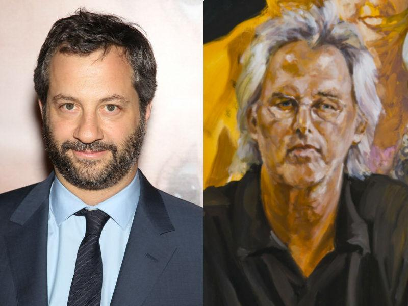 Judd Apatow and Eric Fischl