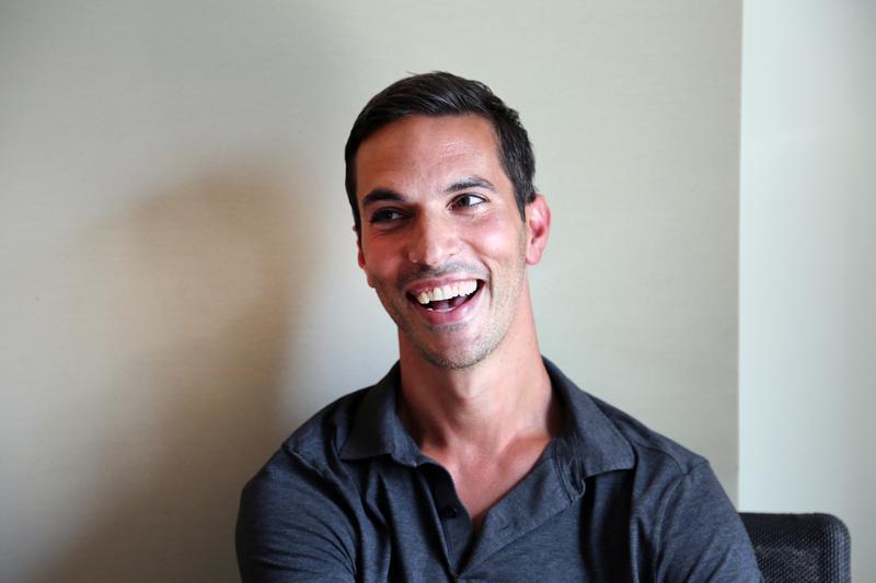Ari Shapiro in the WNYC studio.