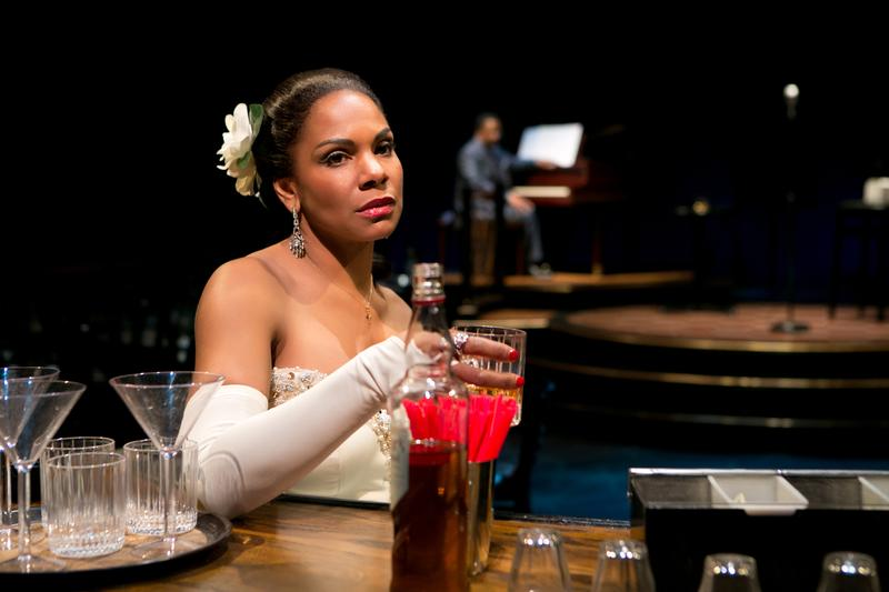 "Audra McDonald in ""Lady Day at Emerson's Bar & Grill,"" at Circle in the Square Theatre through August 10, 2014"
