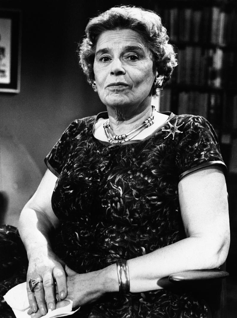 Political author and journalist Rebecca West, April 21, 1960.