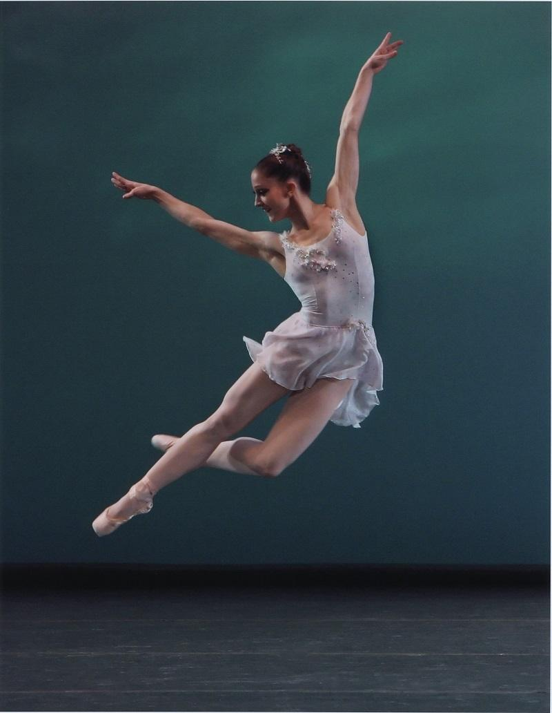 "Ashley Bouder in ""Ballo della Regina,"" choreographed by George Balanchine, New York City Ballet."
