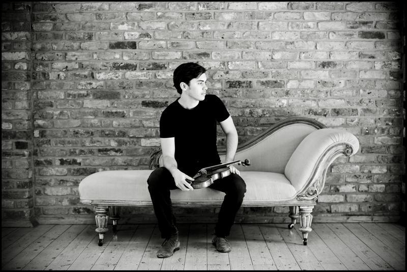 Violinist Benjamin Beilman.