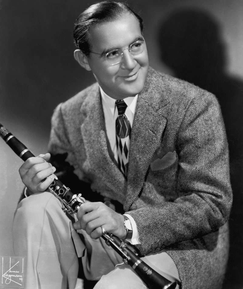 Portrait of American bandleader and clarinetist Benny Goodman, circa 1930s