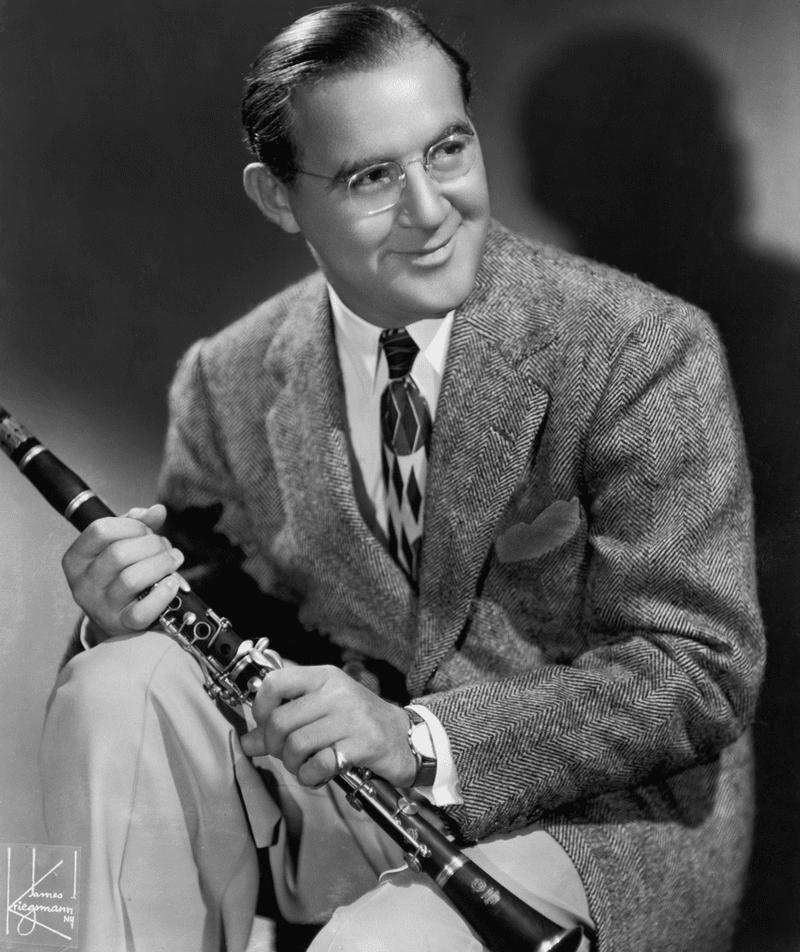 Portrait of American bandleader and clarinetist Benny Goodman, circa 1930s