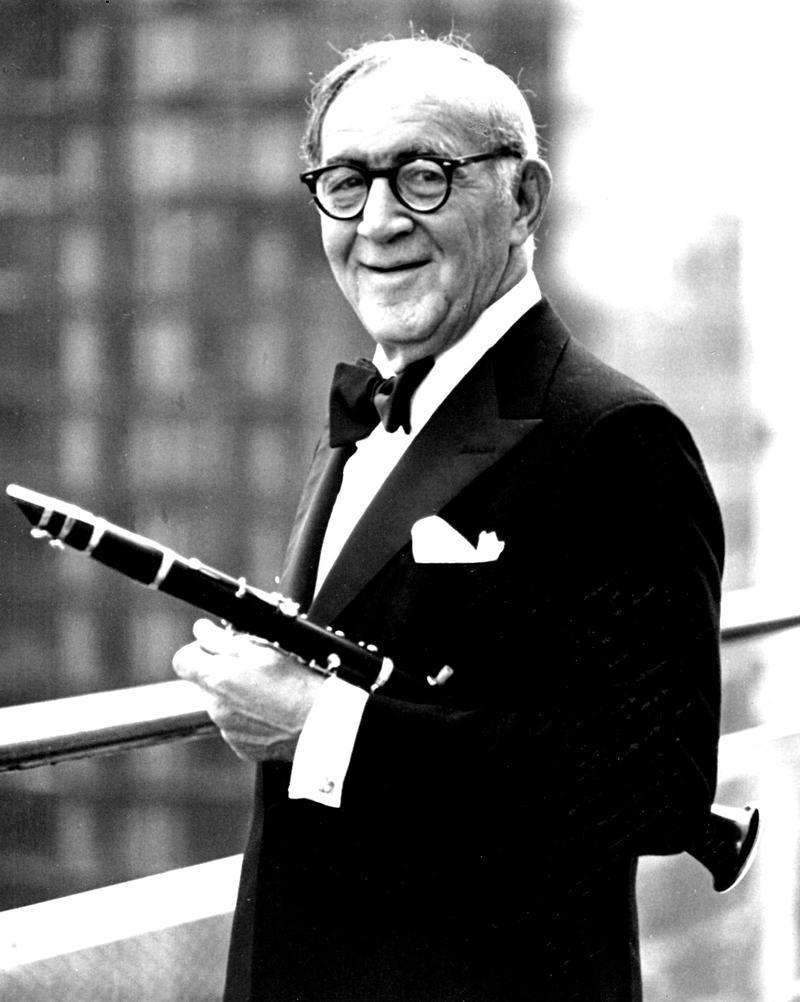 Benny Goodman circa 1970.