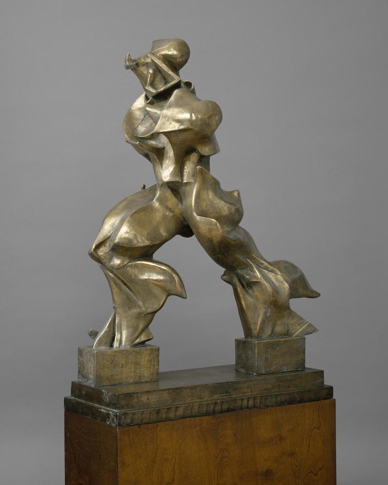Umberto Boccioni Unique Forms of Continuity in Space (Forme uniche della continuità nello spazio), 1913 (cast 1949)