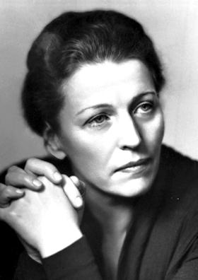 Pearl S. Buck at time of winning Nobel Prize for Literature in December, 1938.