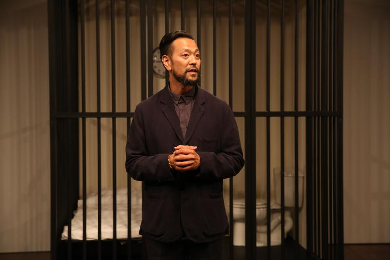 """Louis Ozawa Changchien as Lin Bo in """"Caught"""" by The Play Company."""