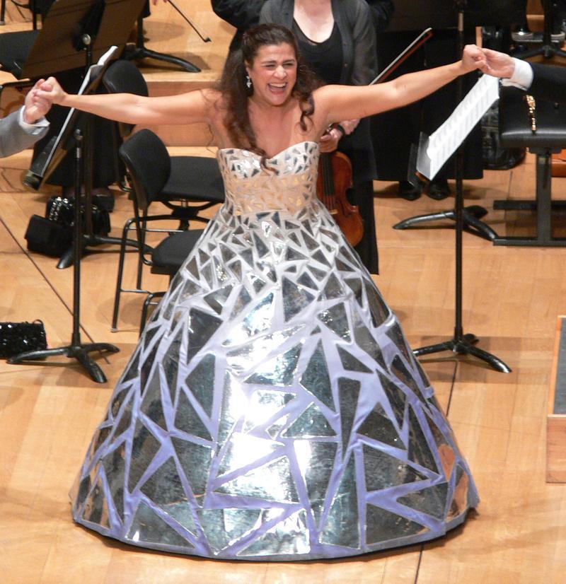 Cecilia Bartoli performs in 2008.