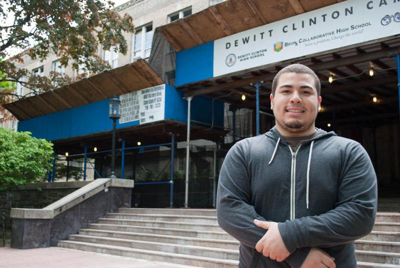 College-Bound Michael Miranda is taking on large student loans in order to attend his first choice school, SUNY-Albany.