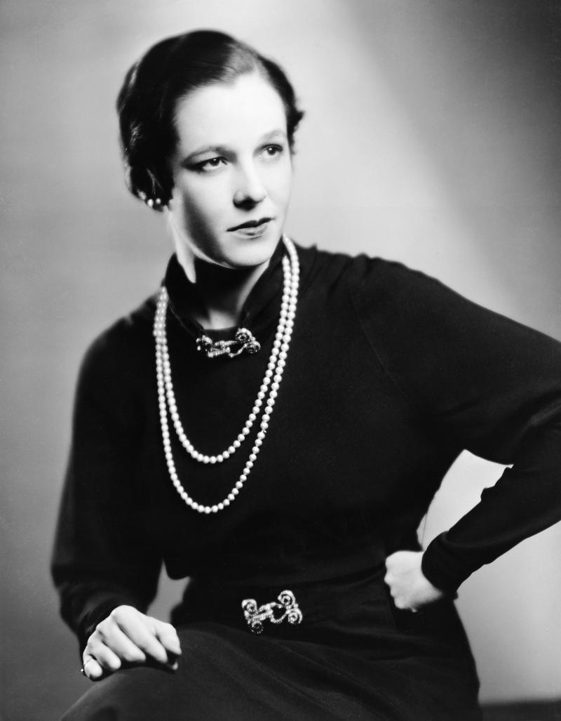 Cornelia Otis Skinner, circa 1930s-1950s.