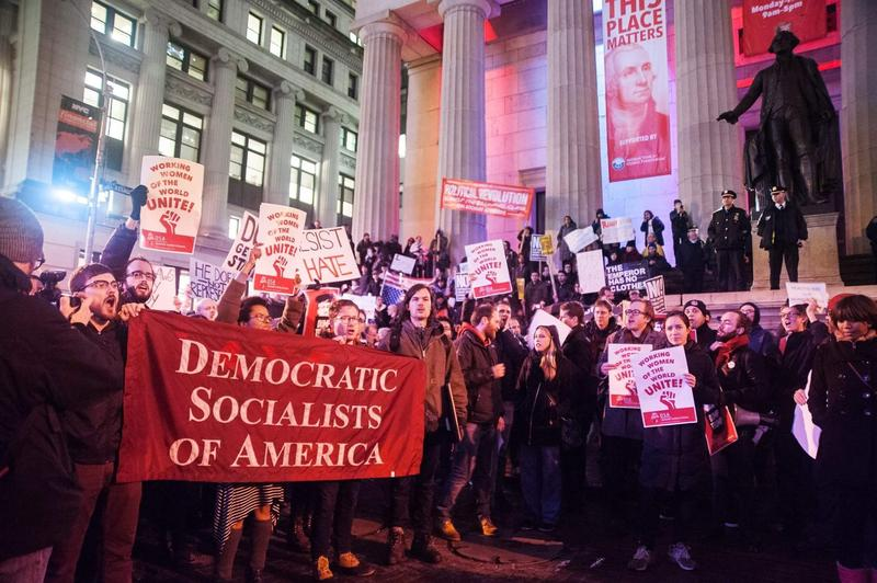 The Democratic Socialists of America have more than doubled their membership in the last six months.