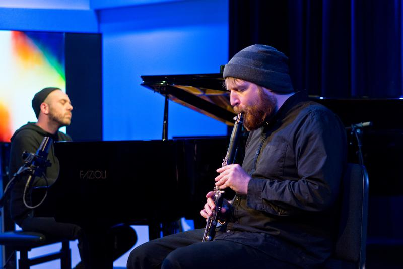 """Bing & Ruth celebrated the release of """"No Home of the Mind"""" in The Greene Space at WQXR on Feb. 13, 2017"""