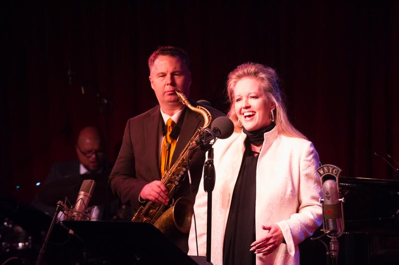 Stacy Sullivan at Jonathan Schwartz's 46th Annual Christmas Show