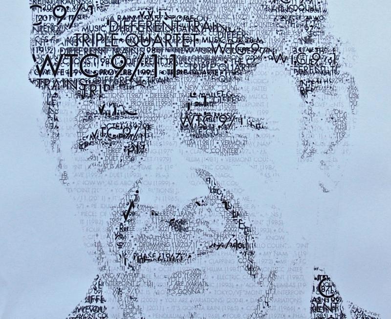 Kronos Quartet poster for the premiere of Steve Reich's 'WTC 9/11'