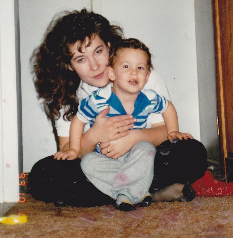 Christianne Boudreau and her son Damian Clairmont when he was 2-years-old. Clairmont died fighting for ISIS.